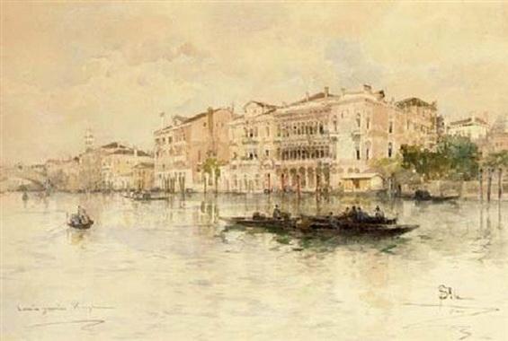Paolo Sala - Il canale grande, Venezia