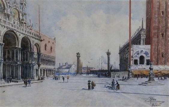Paolo Sala - Veduta di Piazza San Marco, Venezia