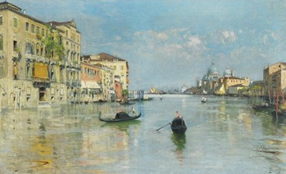 Paolo Sala - The Grand Canal