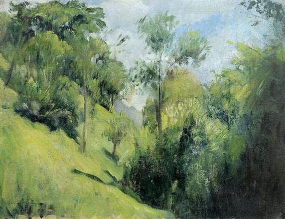 Pietro Annigoni - Paesaggio