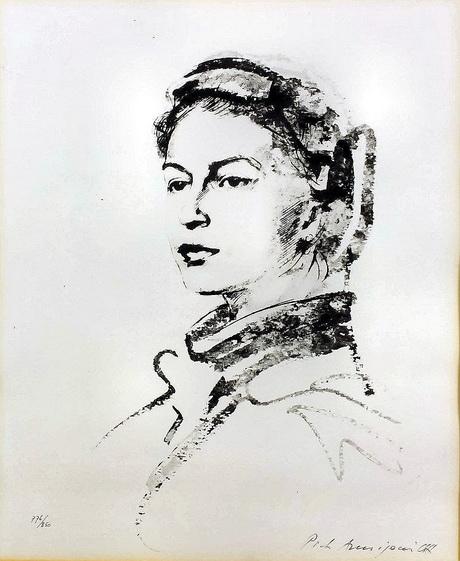 Pietro Annigoni - print of Queen Elizabeth II