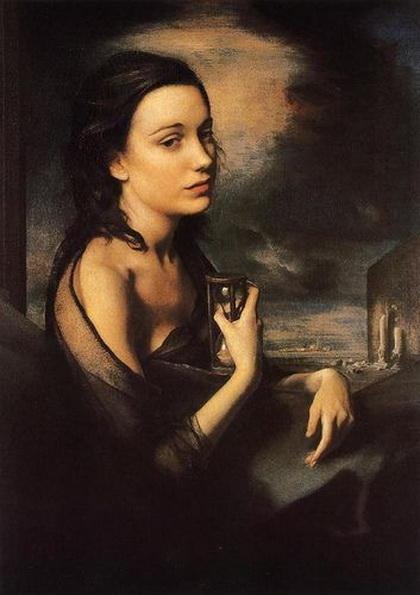 Pietro Annigoni - PORTRAIT of JUANITA FORBES