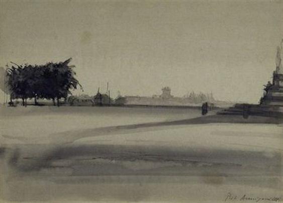 Pietro Annigoni - Piazzale Michelangelo