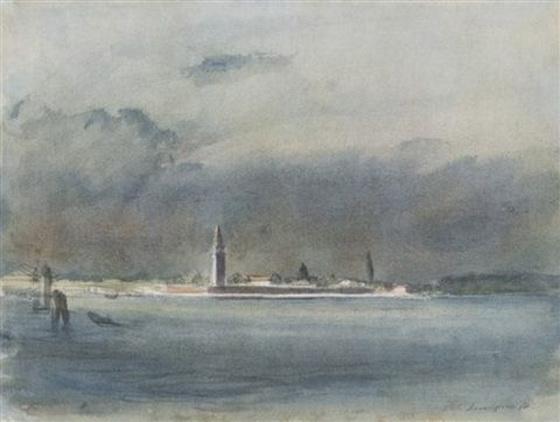 Pietro Annigoni -  Venezia