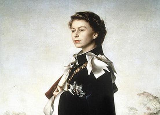 Pietro Annigoni -  Queen Elizabeth II