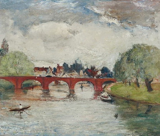 Lloyd Rees - The Bridge at Stratford