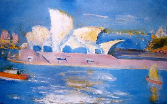 Lloyd Rees - From Dawes Point
