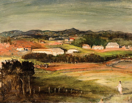 Lloyd Rees - North Shore Hills, Sydney
