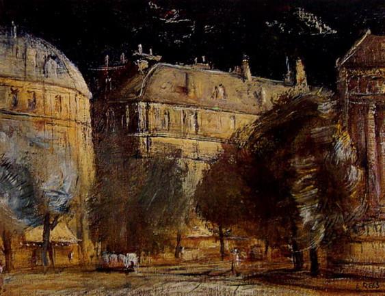 Lloyd Rees - Paris Apartments