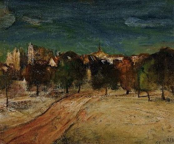 Lloyd Rees - City Skyline