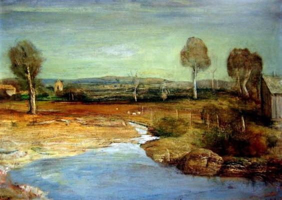Lloyd Rees - Autumn Bathurst