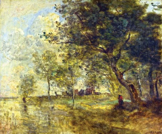 Camille Corot - Наводнение