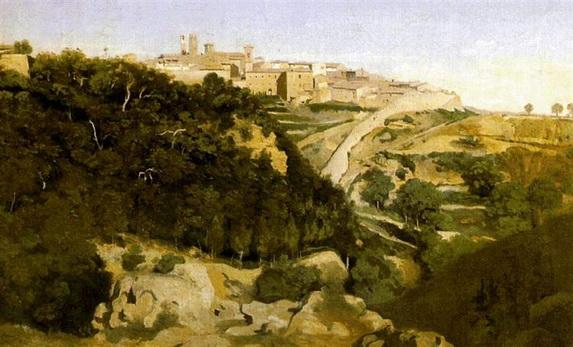 Camille Corot - Volterra