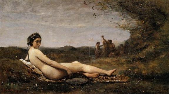 Camille Corot - Repose