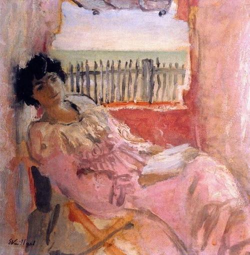 Edouard Vuillard - Lucy Hessel at the Seashore