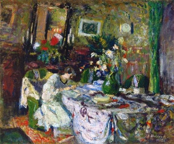 Edouard Vuillard - Marcelle Aron in the Dining Room