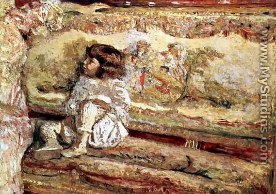 Edouard Vuillard Portrait of Claude Bernheirm de Villers
