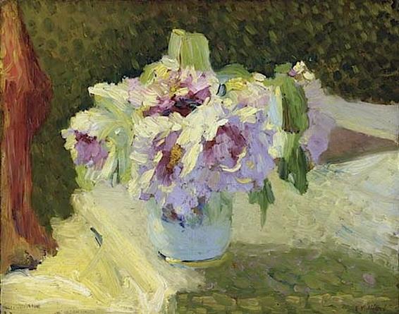Edouard Vuillard анемоны