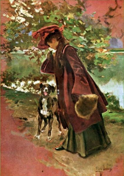 Emilio Sala Frances - Portrait of Leonor