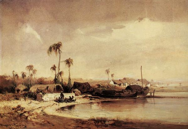 Eduard Hildebrandt - Mazaro, arredofres de Recife