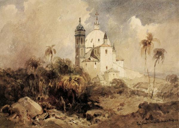 Eduard Hildebrandt - Igreja da Piedade, Salvador