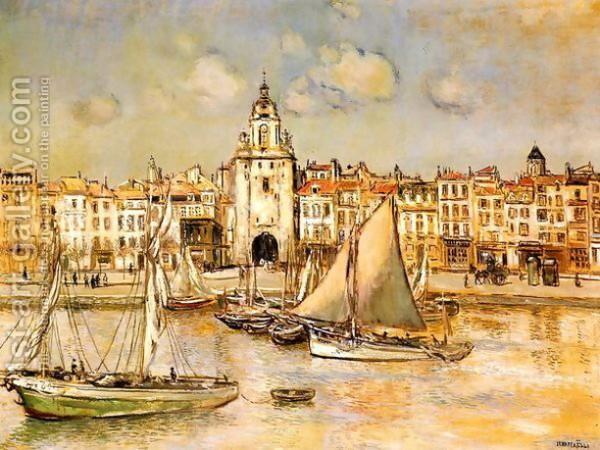 Jean-Francois Raffaelli - View Of La Rochelle