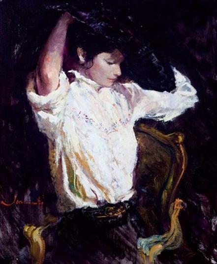 Joan Marti - Dama en el tocador