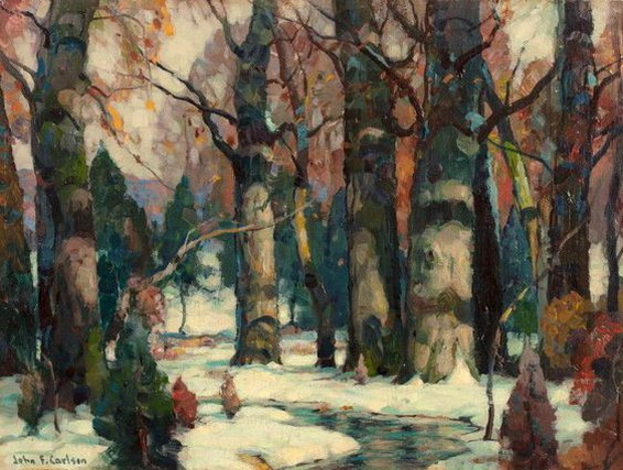 John Fabian Carlson -   Snowy Forest
