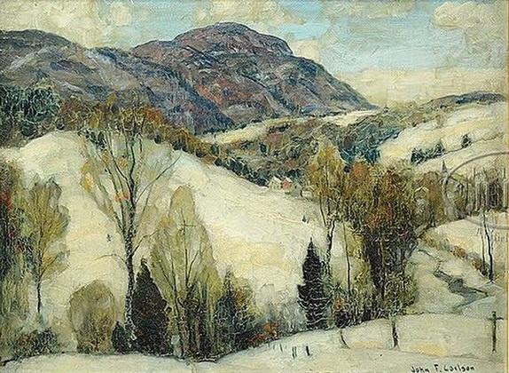 John Fabian Carlson -   Wintry Hills