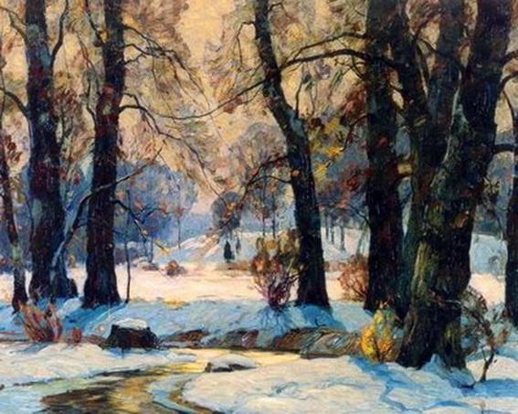 John Fabian Carlson -   winterlandscape