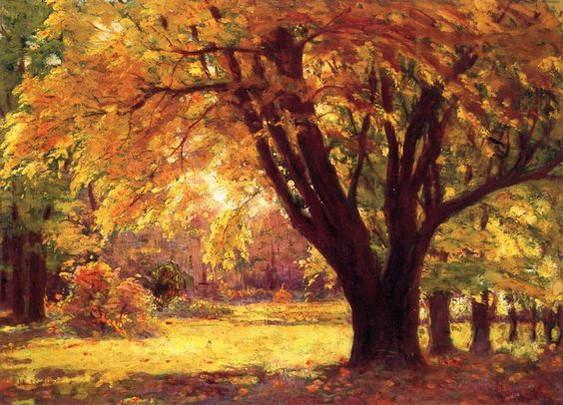 John F. Carlson - Autumn Sunlight
