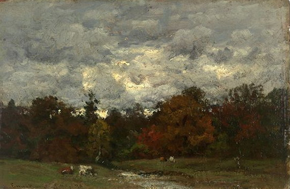 John Joseph Enneking - A Gray Day