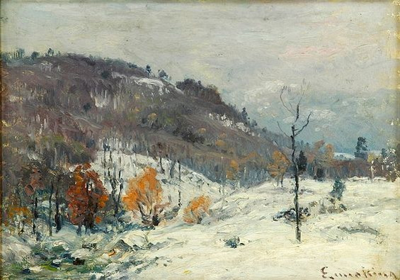 John Joseph Enneking - Winter afternoon