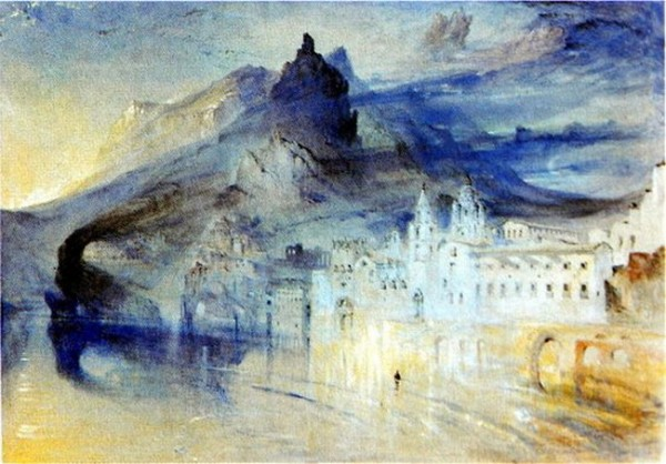 John Ruskin - View of Amalfi