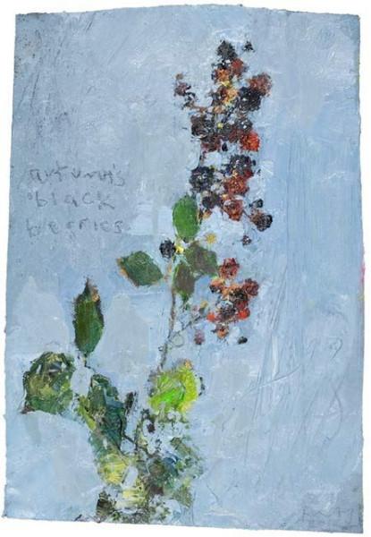 Kurt Jackson -    The Blackberries