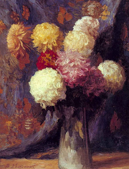 Дворников - Хризантемы