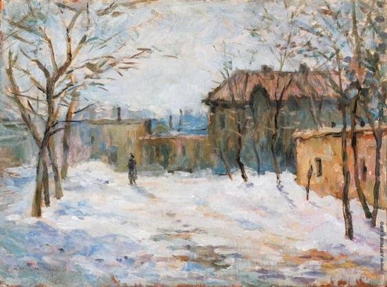Дворников - Зимний день