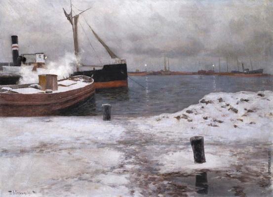 Дворников - Зимняя пристань