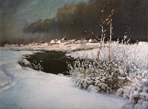 Дубовский - В начале зимы