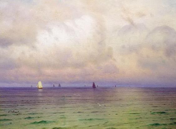 Дубовский - на море