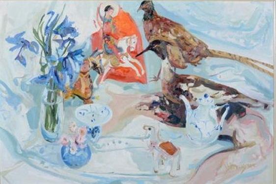 James Harrigan - Still-life with pheasant