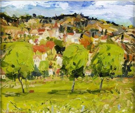 James Harrigan - Pastoral landscape