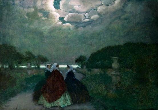 Нилус - Три женщины в парке