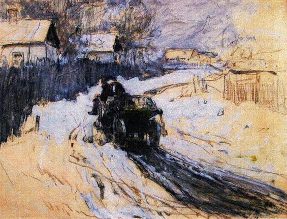 Левченко Петро - Зима