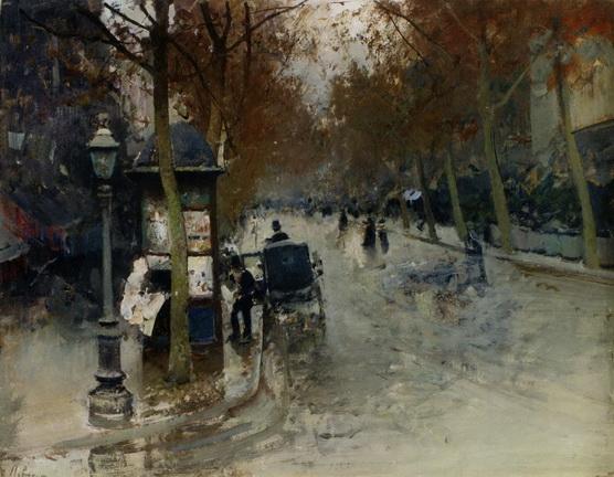 Левченко Петро - Парижская улица.