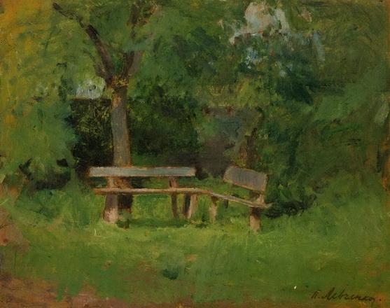 Левченко Петро - Скамейки в саду