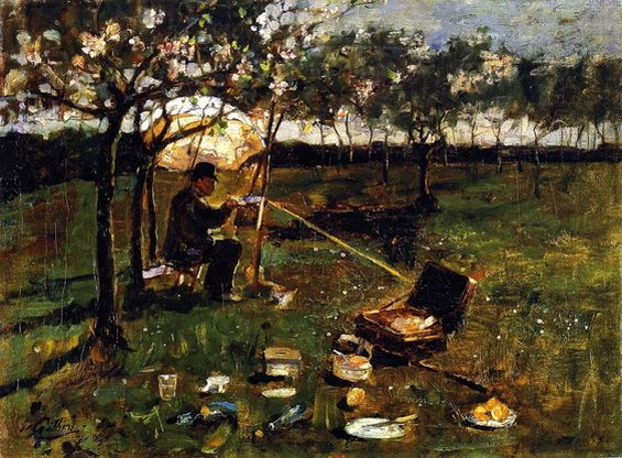 James Guthrie - Poppleton, The Artist at Work