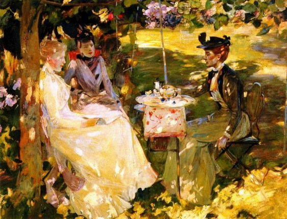 James Guthrie - Tea party