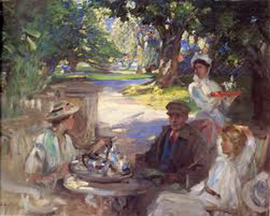 James Guthrie - The Garden Party