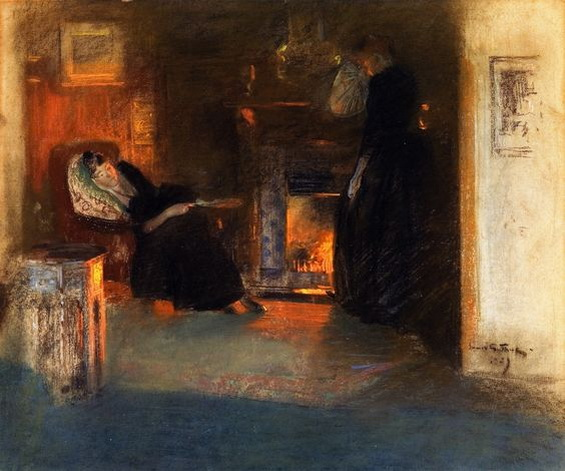 James Guthrie - Firelight Reflections